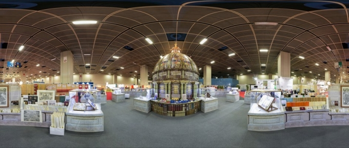 Panoramic view of the Pavilion